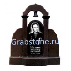 Памятник из цветного гранита №10