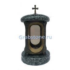 Лампада Покостовский (серый гранит)